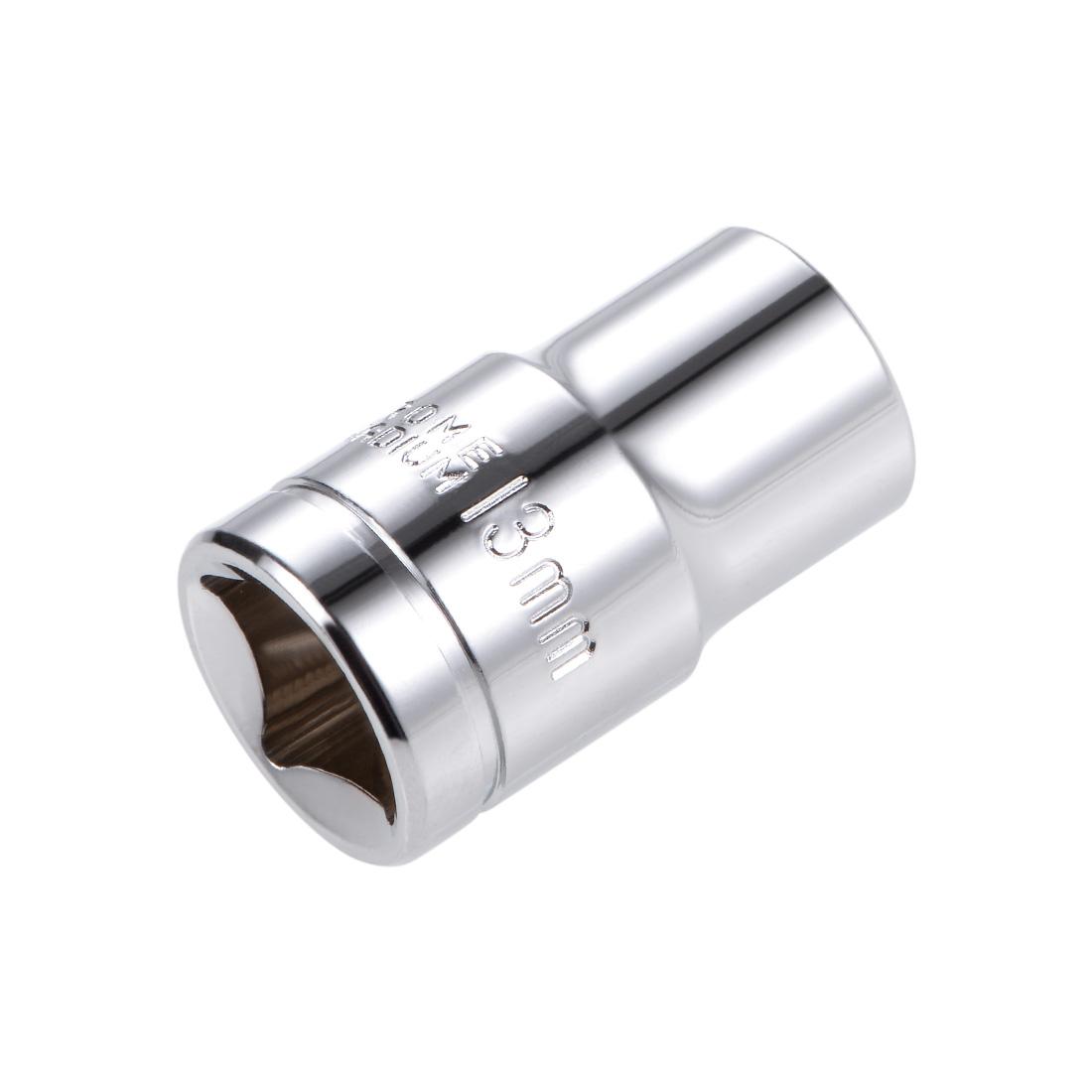 1/2-inch Drive E13 Universal Spline Socket Shallow 12 Point Cr-V Steel