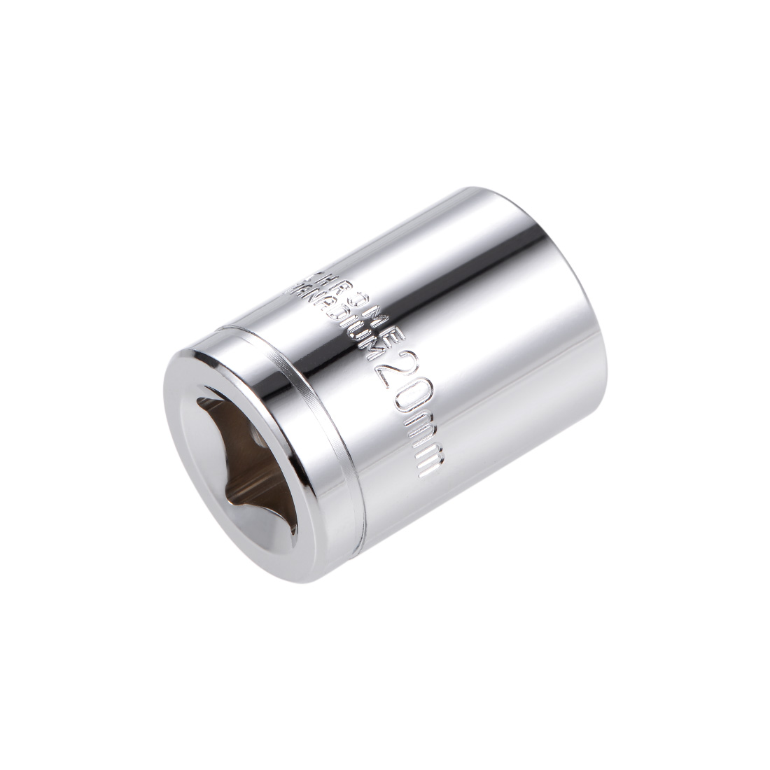 1/2-inch Drive E20 Universal Spline Socket Shallow 12 Point Cr-V Steel