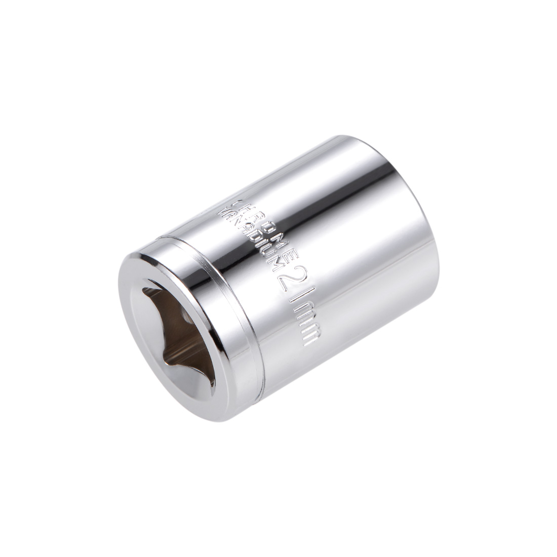1/2-inch Drive E21 Universal Spline Socket Shallow 12 Point Cr-V Steel