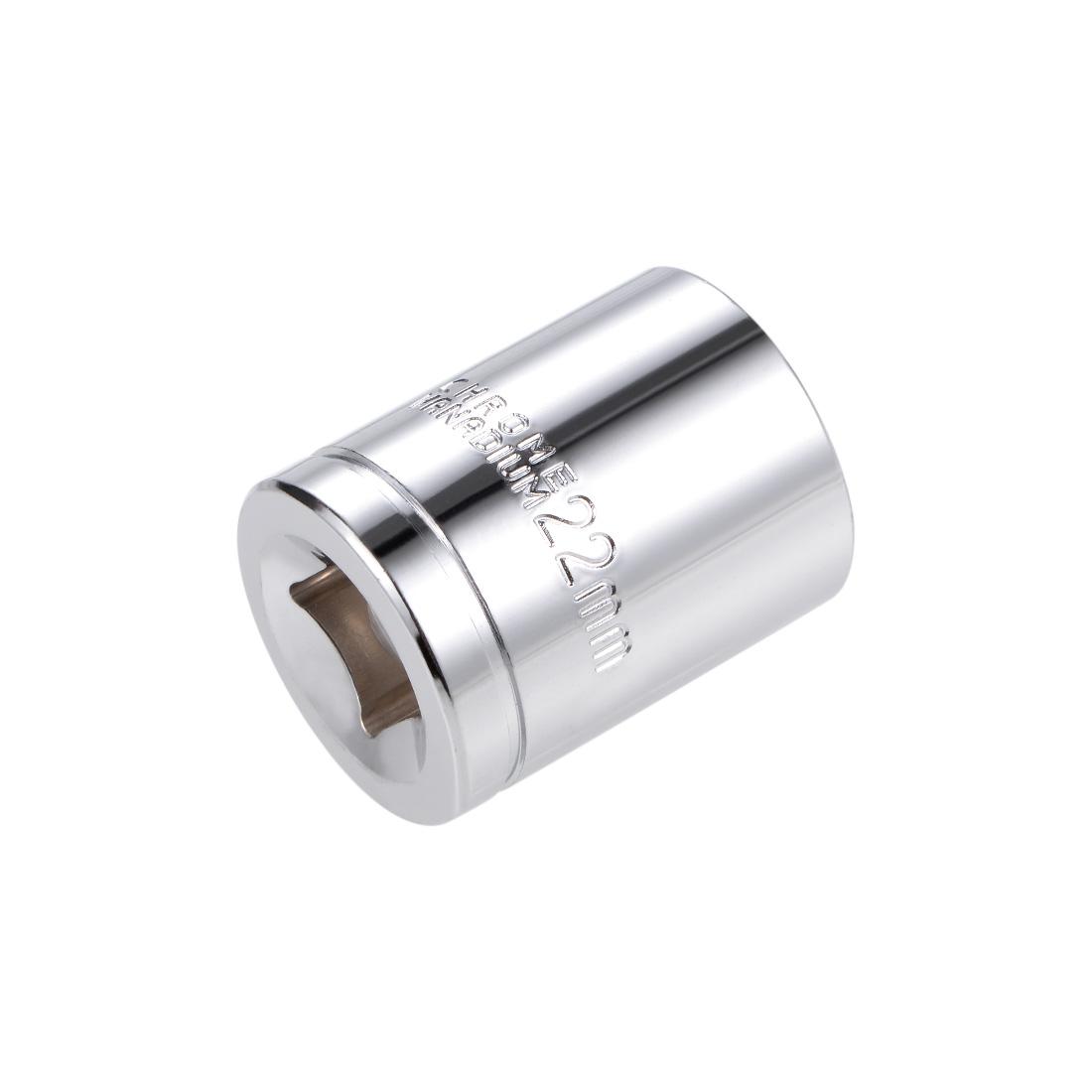 1/2-inch Drive E22 Universal Spline Socket Shallow 12 Point Cr-V Steel