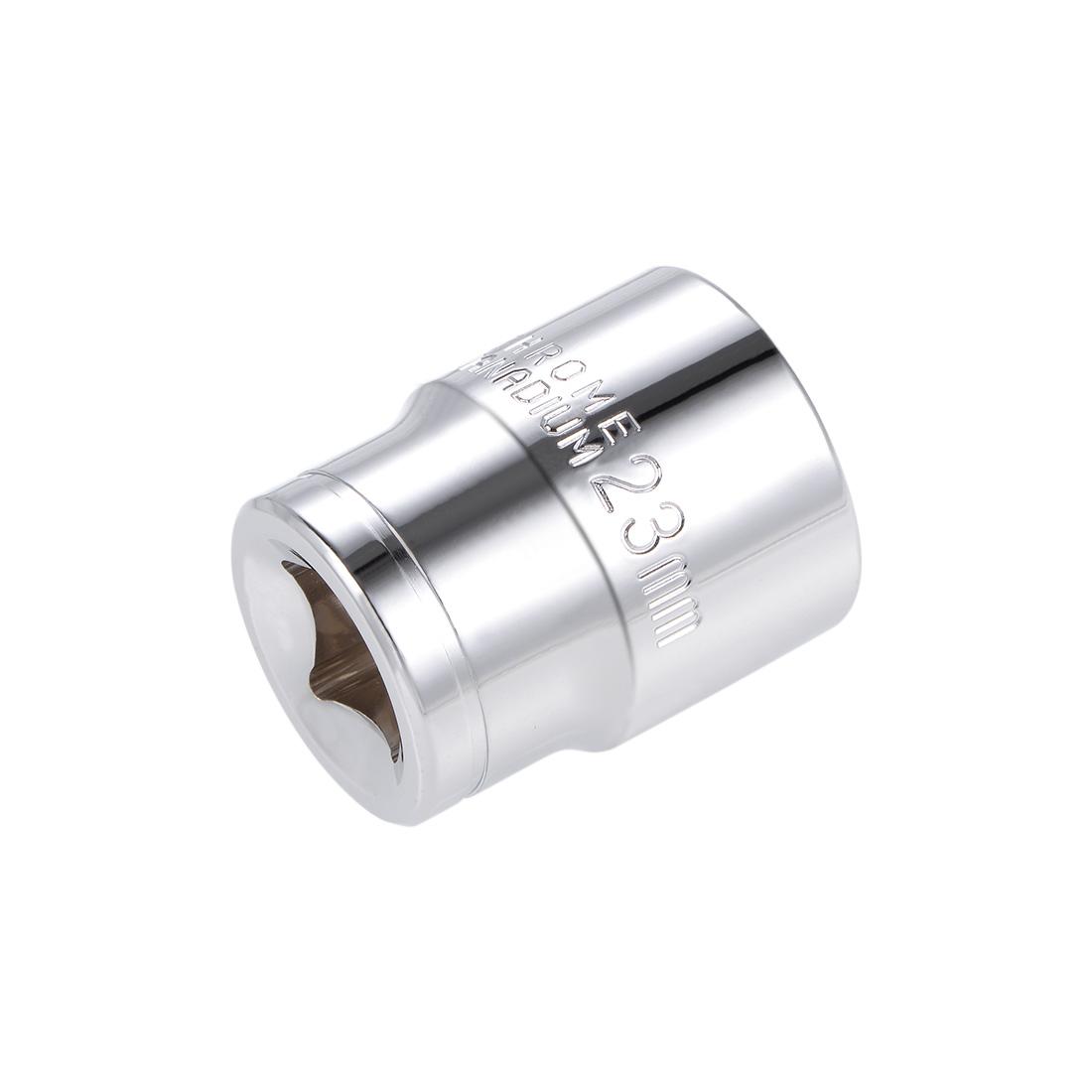 1/2-inch Drive E23 Universal Spline Socket Shallow 12 Point Cr-V Steel