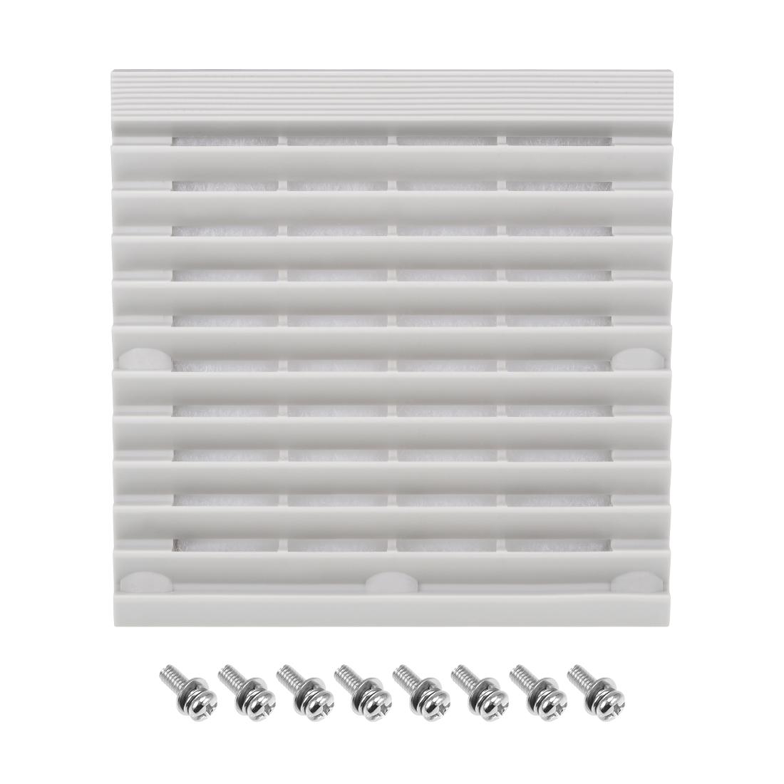 150mm x 150mm ABS Housing Dustproof Sponge Ventilator Filter System Grille