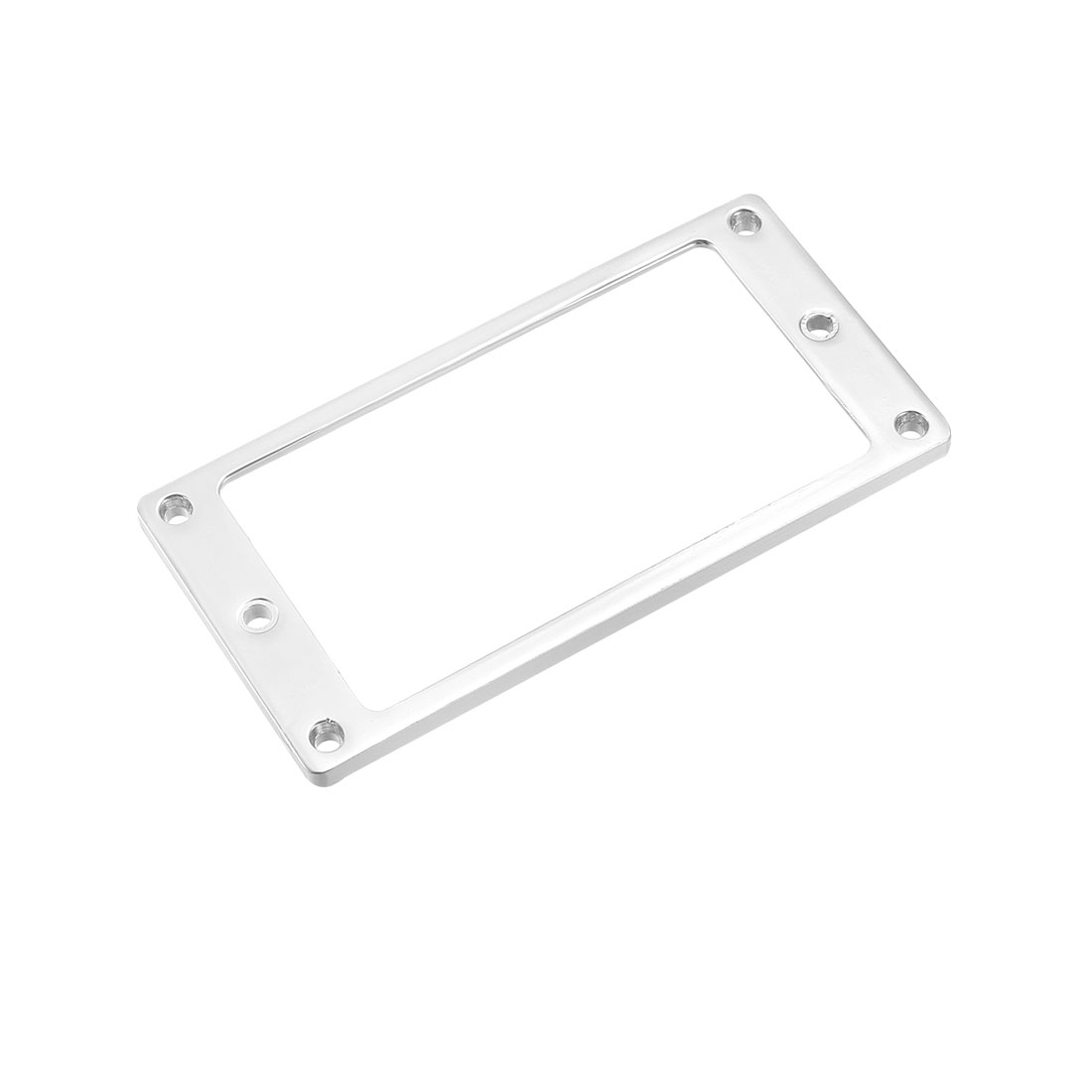 Humbucker Pickup Frame Mounting Rings Replacement for Electric Guitars Silver