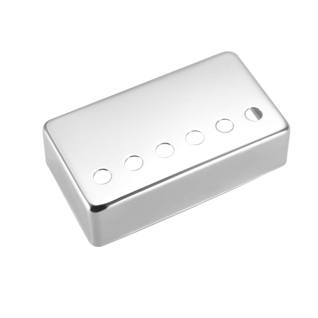 52mm Metal Humbucker Guitar Bridge Pickup Covers for Electric Guitar - Silver
