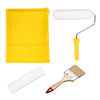 Paint Roller Kit, 9 In Roller for Wall Painting Treatment with Tray and Brush