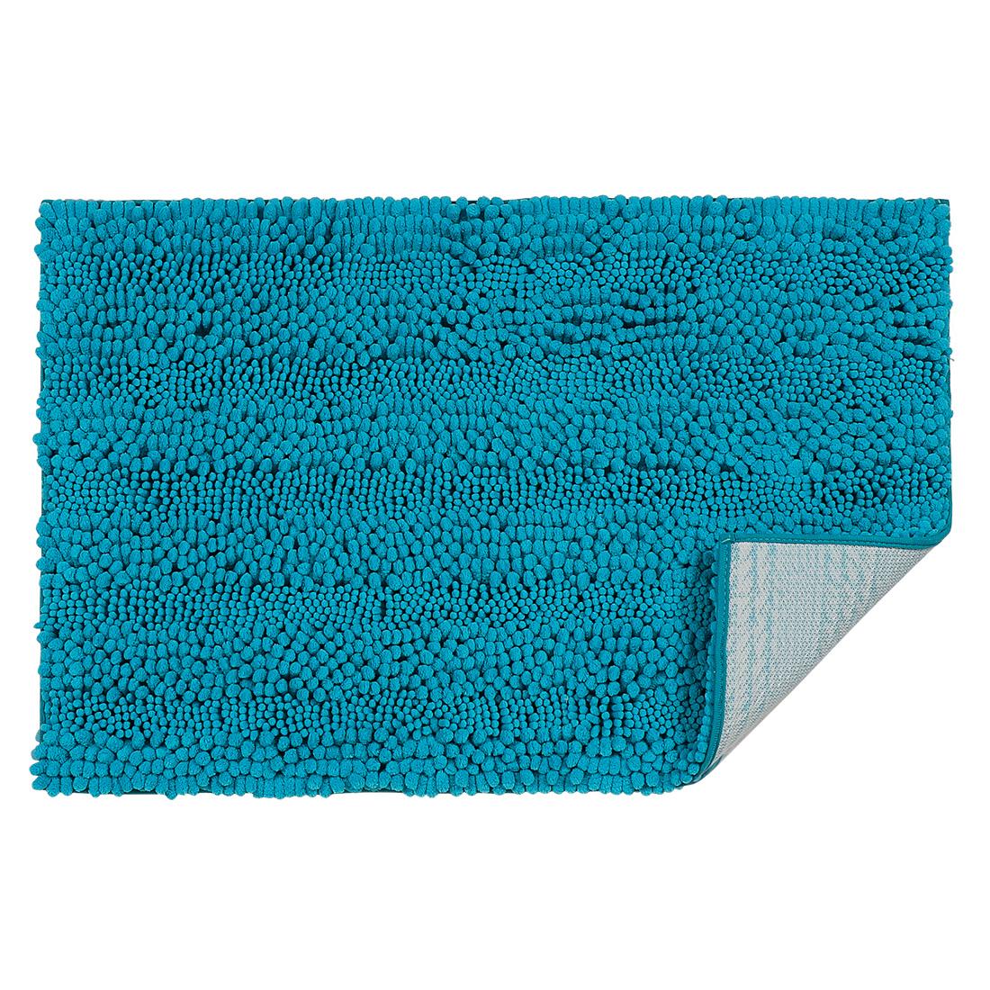 20 x 32 Inch Luxury Soft Plush Shaggy Bath Mat Chenille Rug Carpet Blue