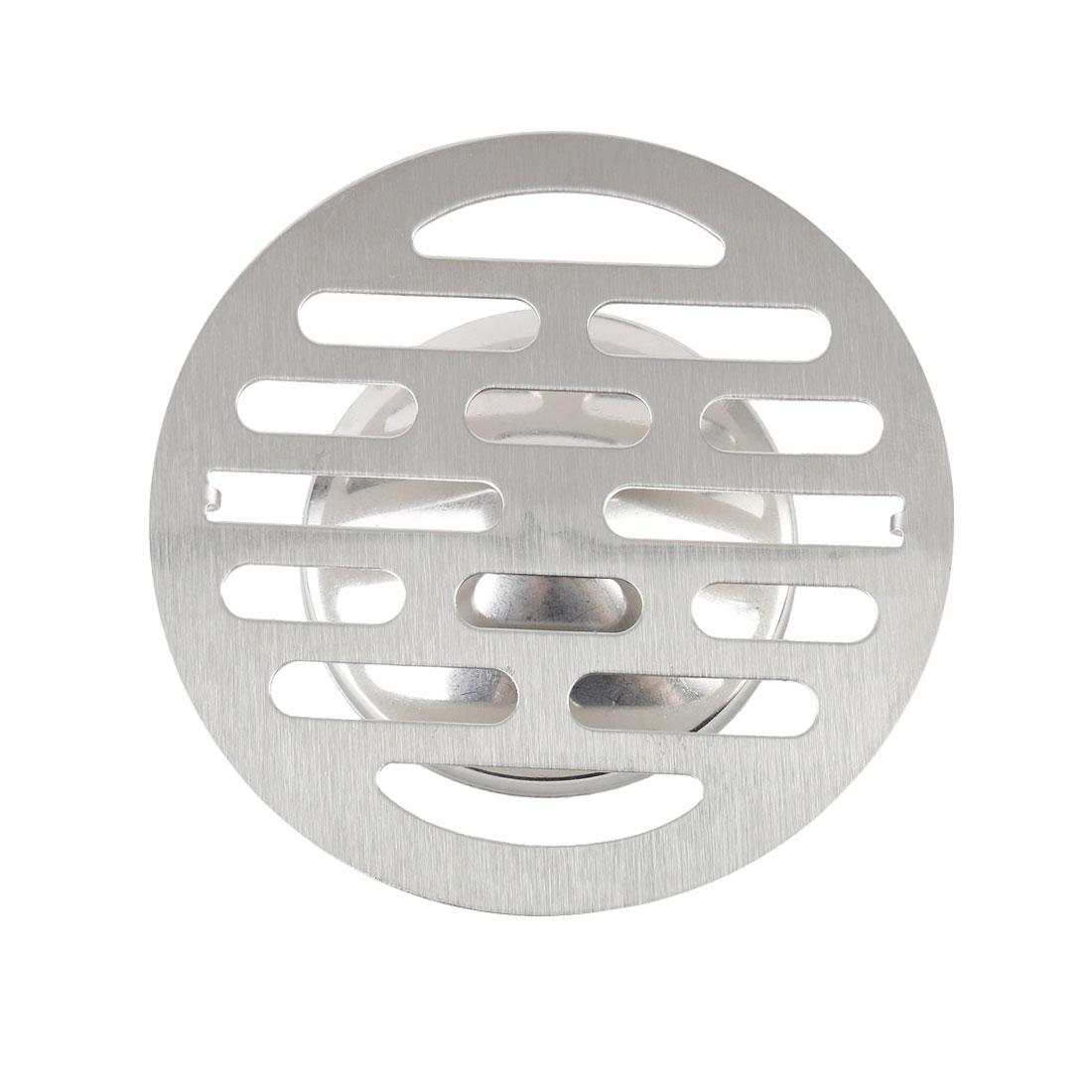 "4.3"" Floor Drain Cover Hair Catcher Deodorant Sink Filter Bathroom Kitchen"