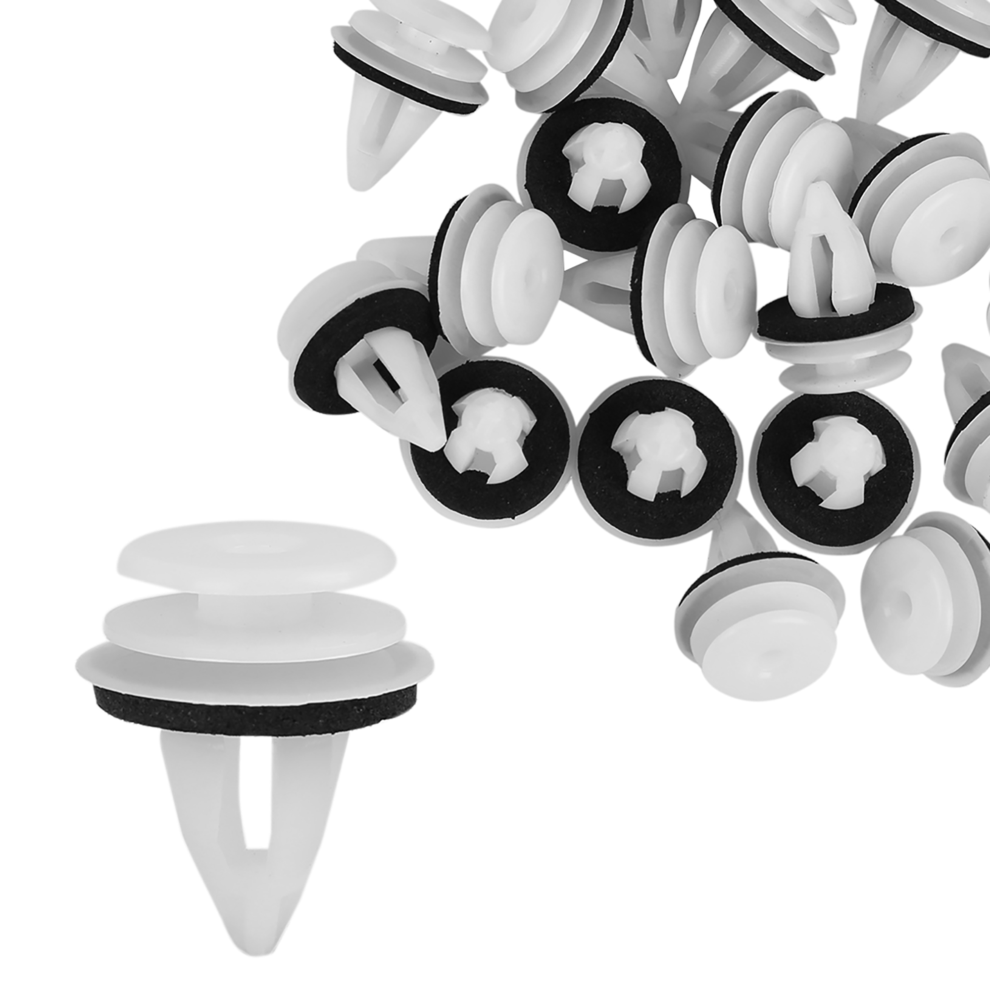 20pcs Plastic White Retainer Clips for BMW E46 E90 F30 X5 X3 E60 51418224768