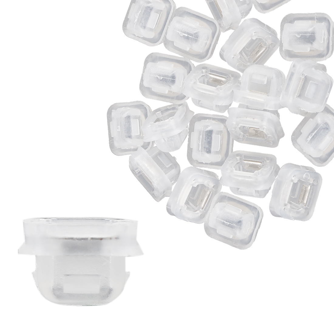 20pcs Plastic White Retainer Clips for BMW E46 E90 E91 E92 320i 323i 07149158194