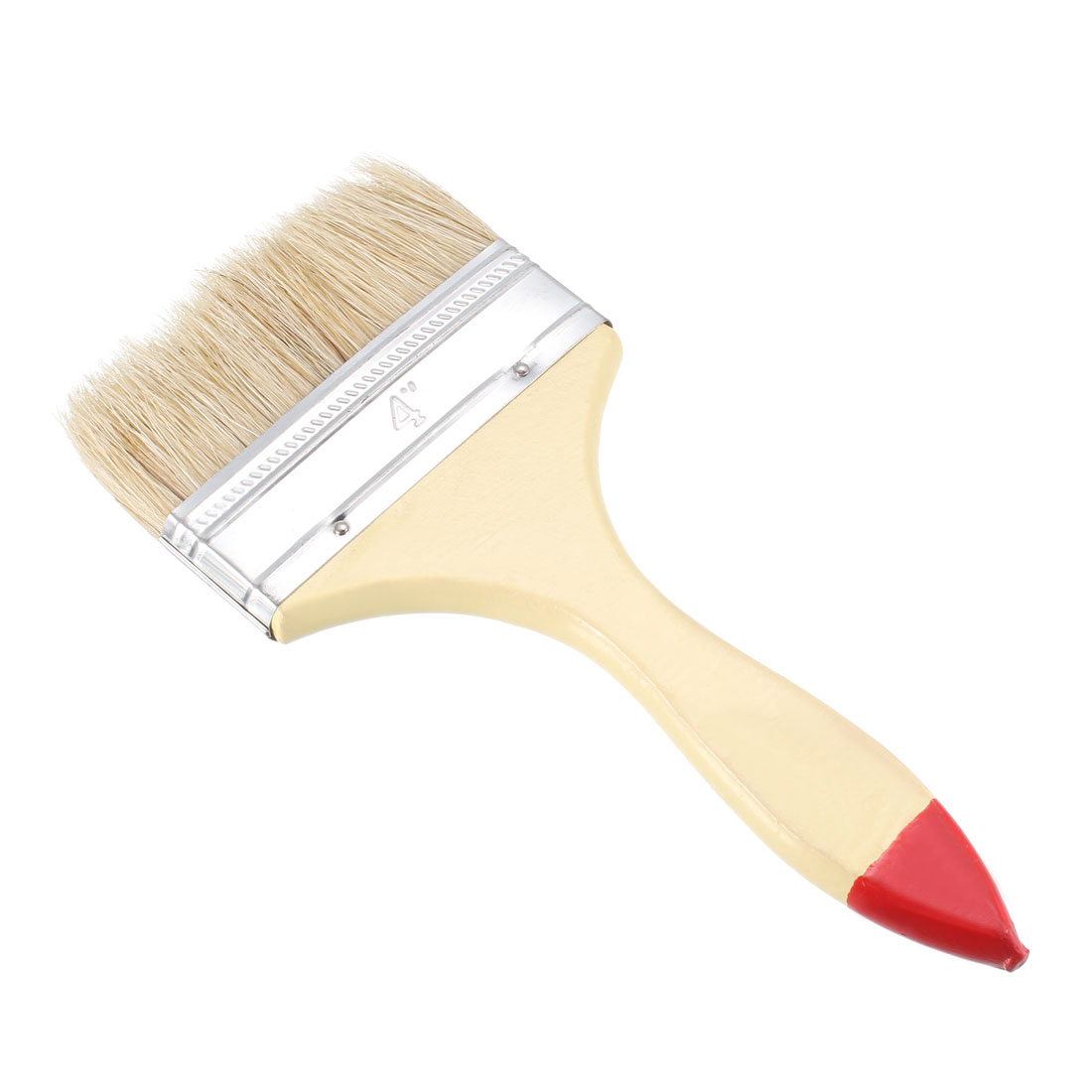 4 Inch Chip Paint Brush Synthetic Bristle with Wood Handle for Wall Treatment