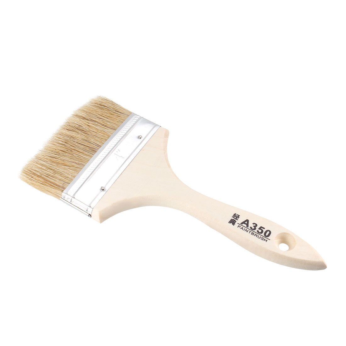 4 Inch Chip Paint Brush Synthetic Bristle with Wooden Handle for Wall Treatment