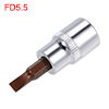 3/8-Inch Drive Bit Socket FD5.5 S2 Steel 48mm Length
