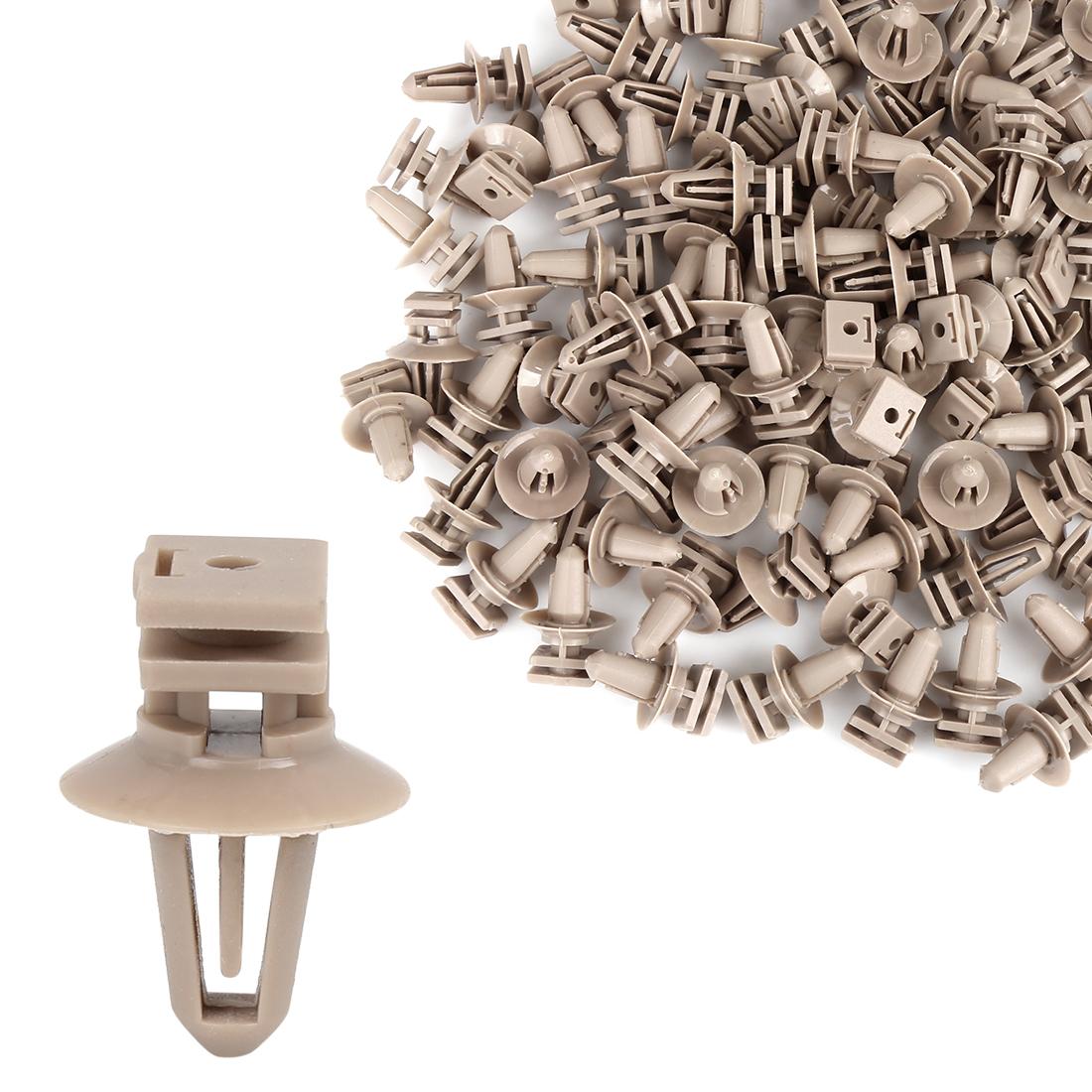 100pcs Door Entry Sill Moulding Plastic Trim Clips for BMW M4 M6 07147074343