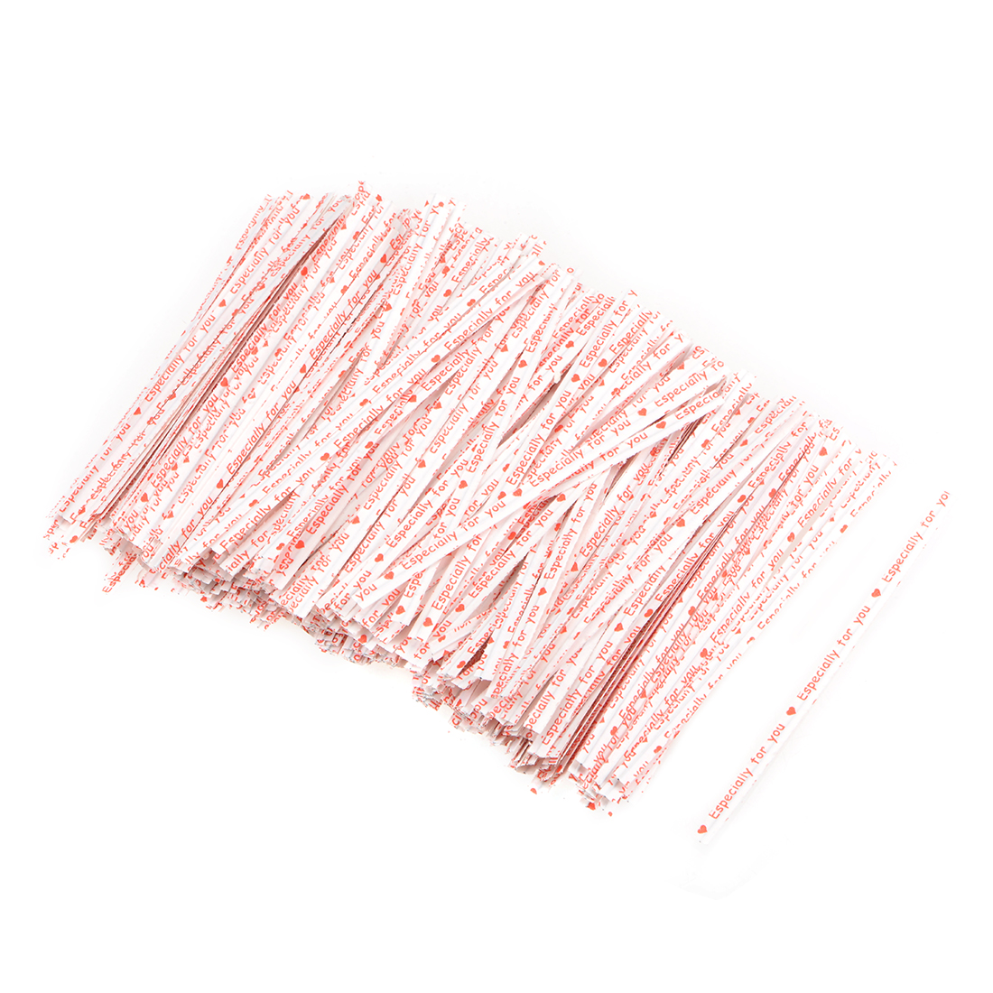 Long Strong Twist Ties 4 Inches Quality Kraft Closure White 1000pcs