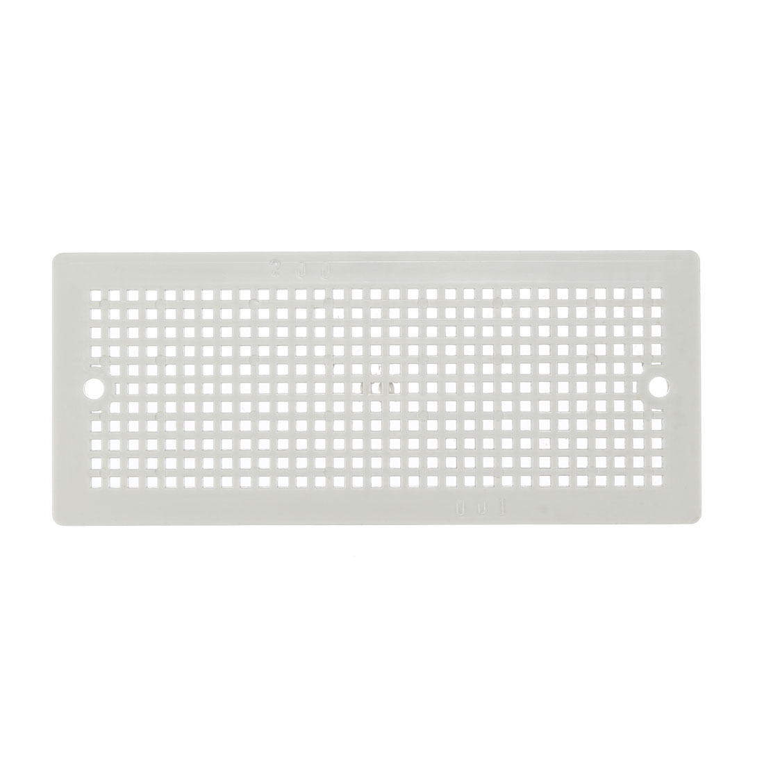 ABS Plastic Internal Panel Suitable for 200mm x 100mm Electrical Junction Box