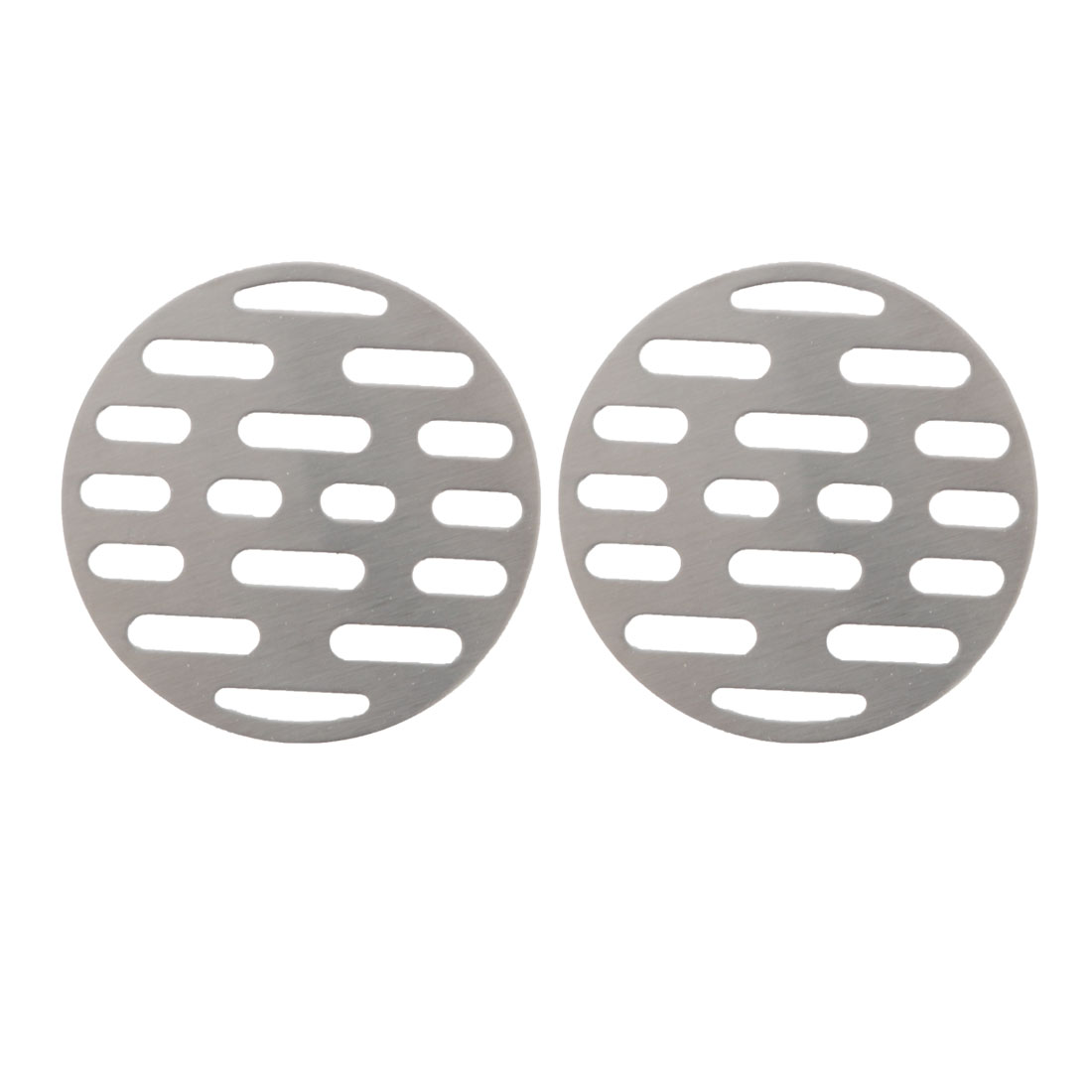 "2pcs 2.6"" Floor Drain Cover Hair Catcher Sink Filter Stopper Bathroom Kitchen"