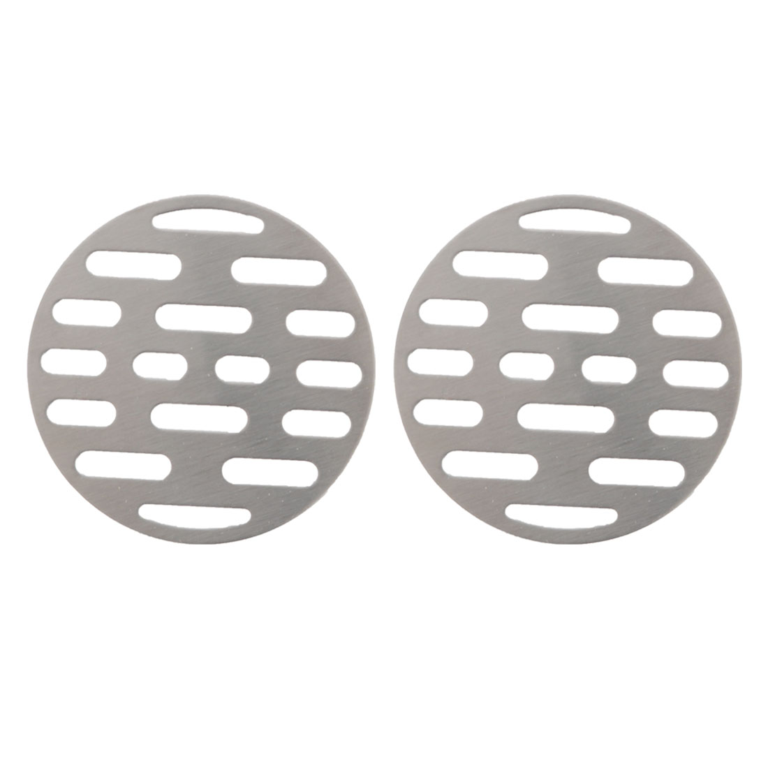 "2pcs 2.64"" Floor Drain Cover Hair Catcher Sink Filter Stopper Bathroom Kitchen"