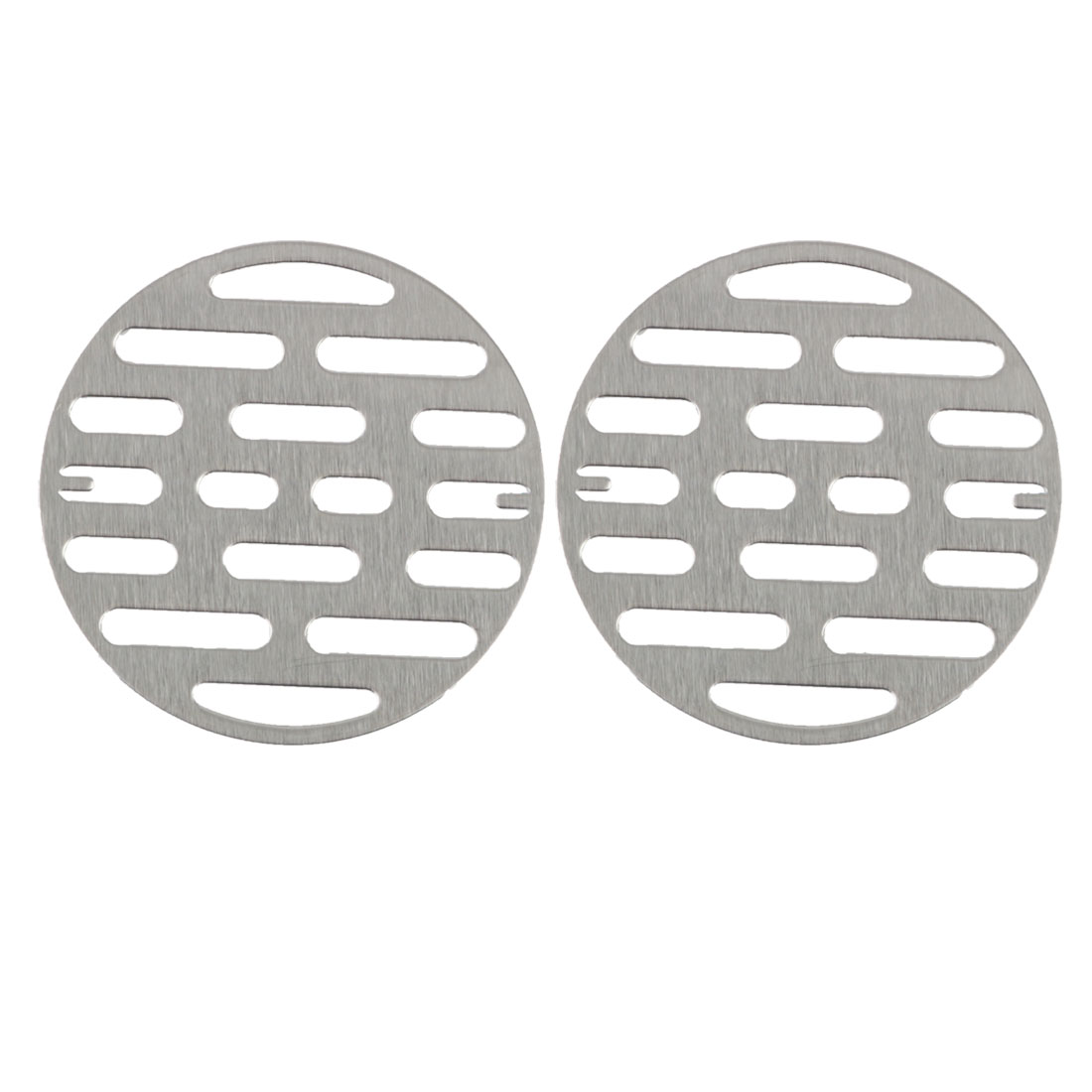 """2pcs 3.07"""" Snap-in Floor Drain Cover Hair Catcher Sink Filters Stopper Kitchen"""