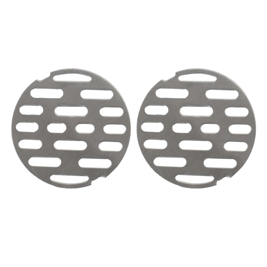 2pcs 2.6 Inch Snap-in Floor Drain Cover Hair Catcher Sink Drain Strainer Stopper