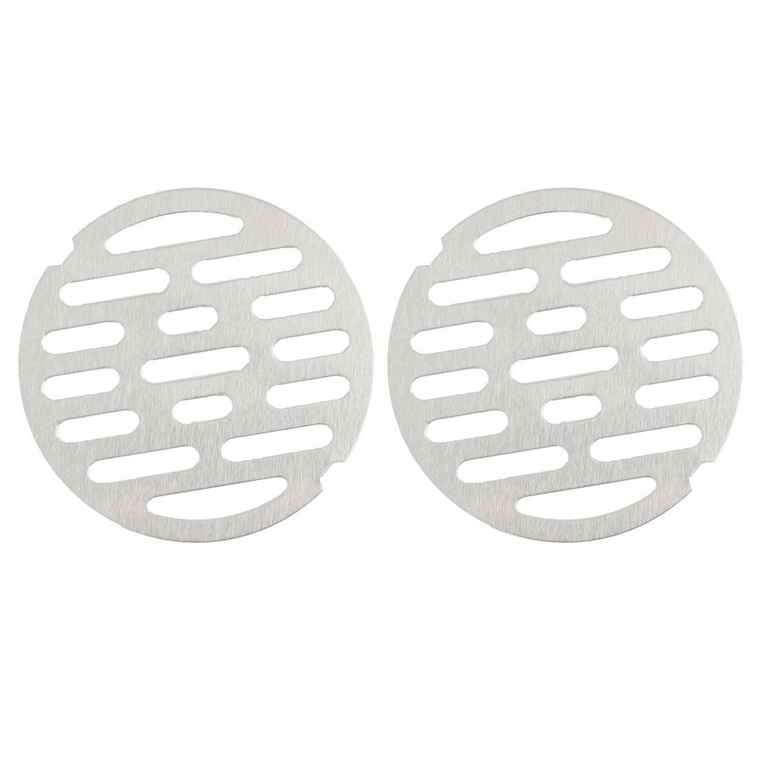 "2pcs 2.8"" Snap-in Floor Drain Cover Hair Catcher Sink Filter Strainer Stopper"