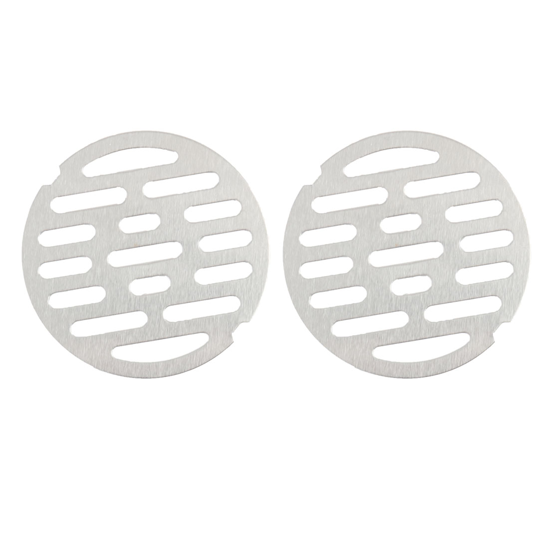 2pcs 2.9 Inch Snap-in Floor Drain Cover Hair Catcher Sink Drain Strainer Stopper
