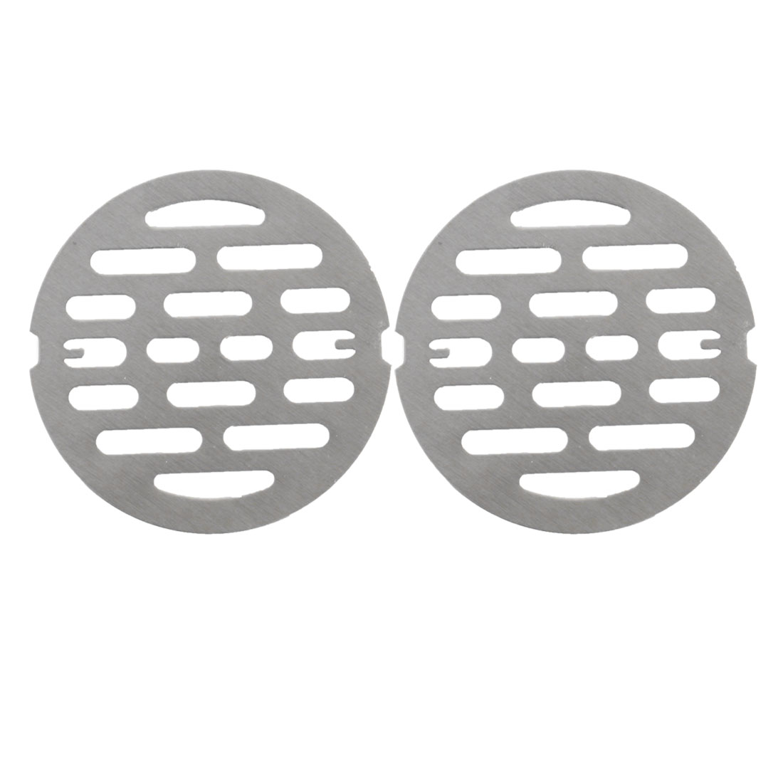 "2pcs 3.2"" Snap-in Floor Drain Cover Hair Catcher Sink Filter Strainer Stopper"