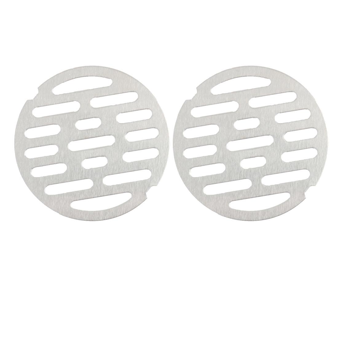 "2pcs 3.4"" Snap-in Floor Drain Cover Hair Catcher Sink Filter Strainer Stopper"