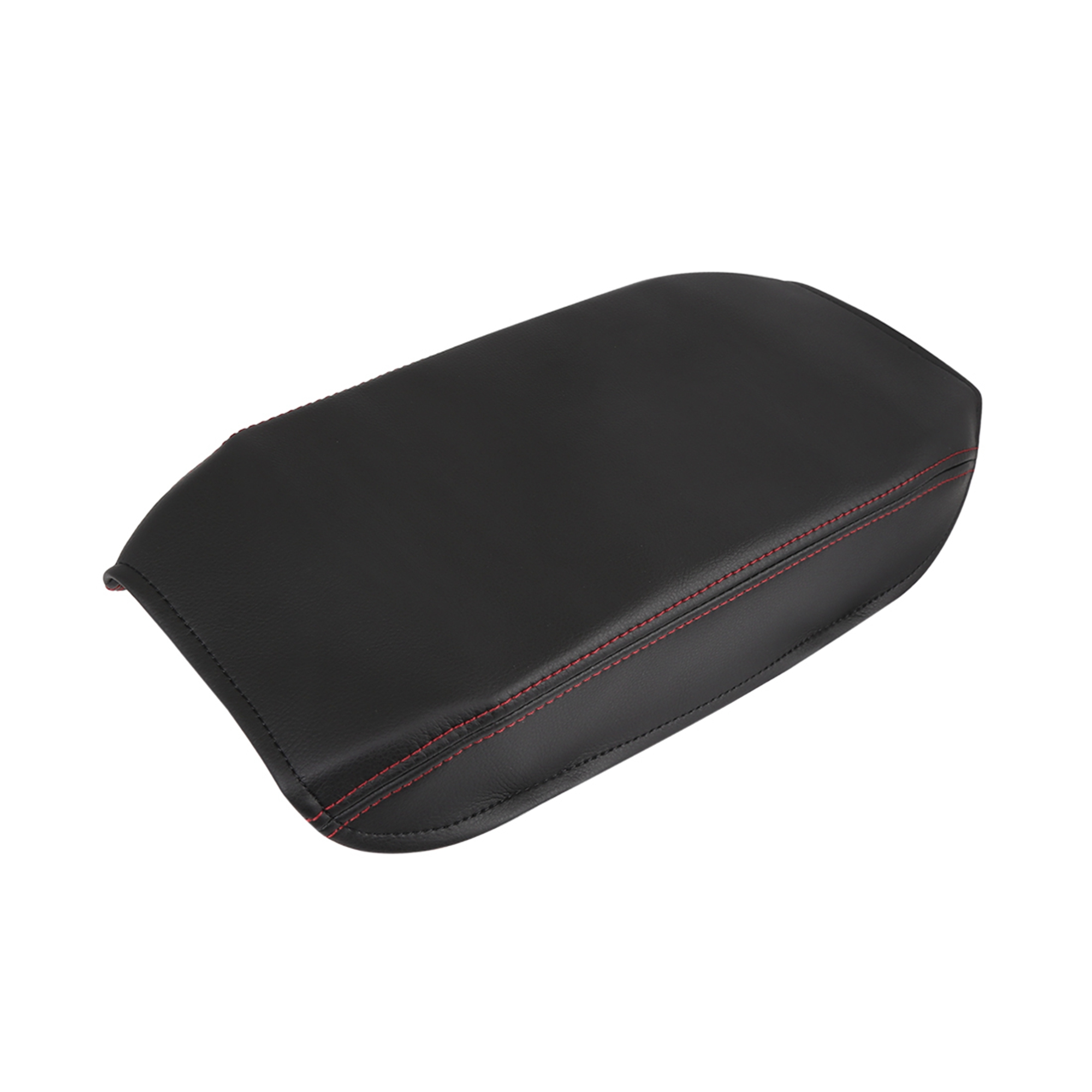 Microfiber Leather Center Console Lid Armrest Cover Skin for 07-11 Toyota Camry