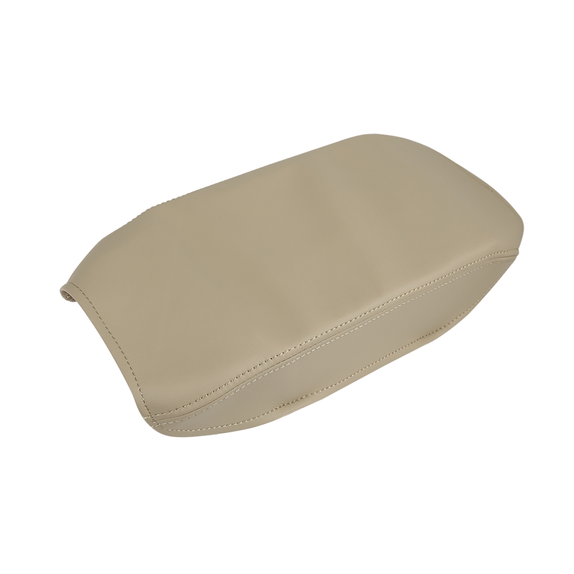 Microfiber Leather Center Console Lid Armrest Cover for 07-11 Toyota Camry