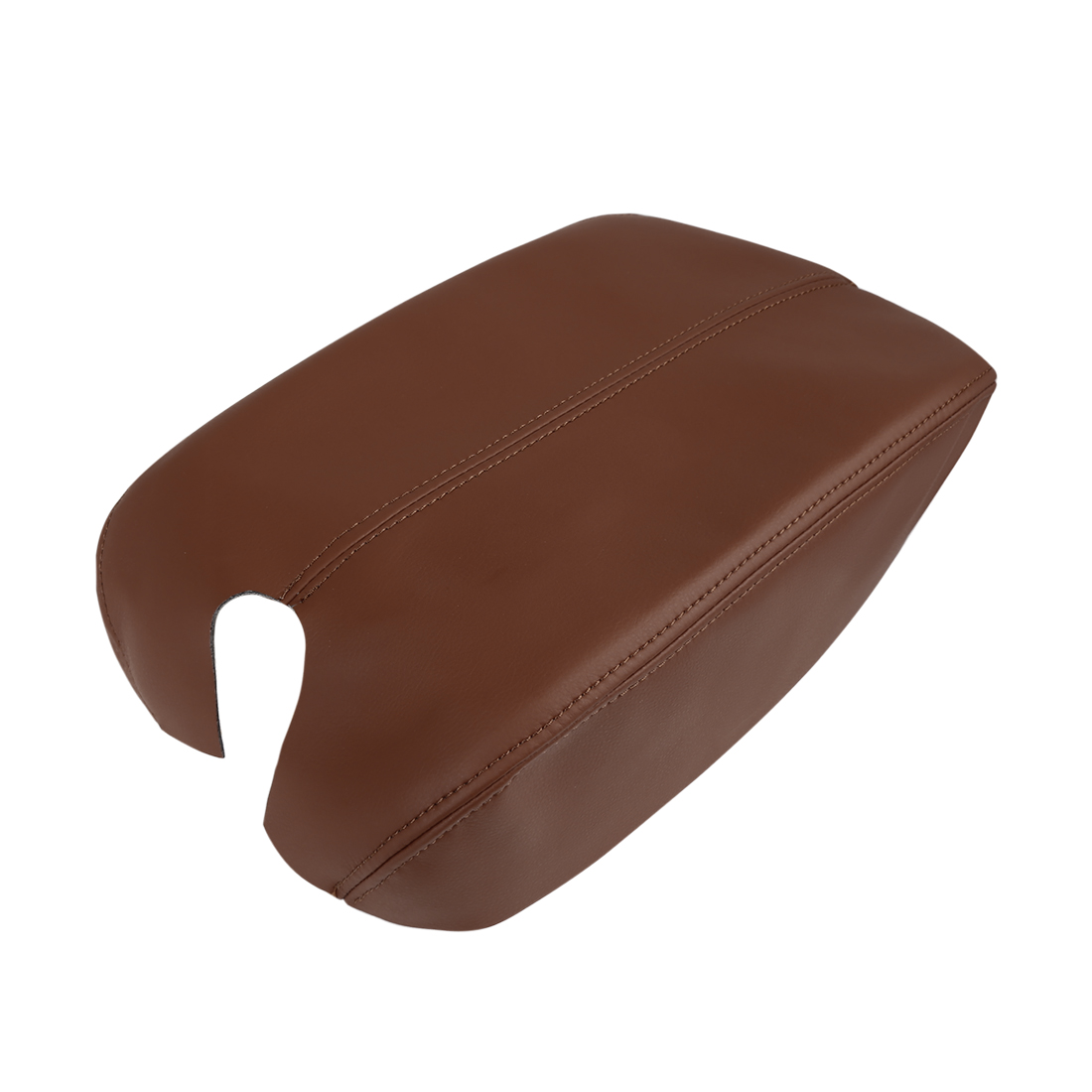 Microfiber Leather Center Console Armrest Cover Protector for 08-12 Honda Accord