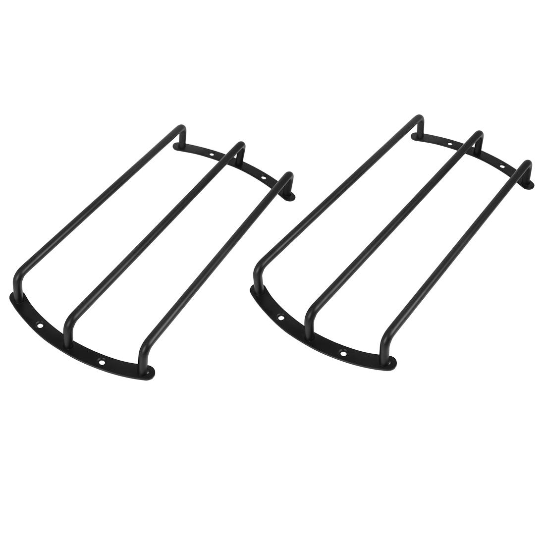 2pcs 10 Inch Black Metal Car Bar Grille Speaker Subwoofer Grill Cover Protector
