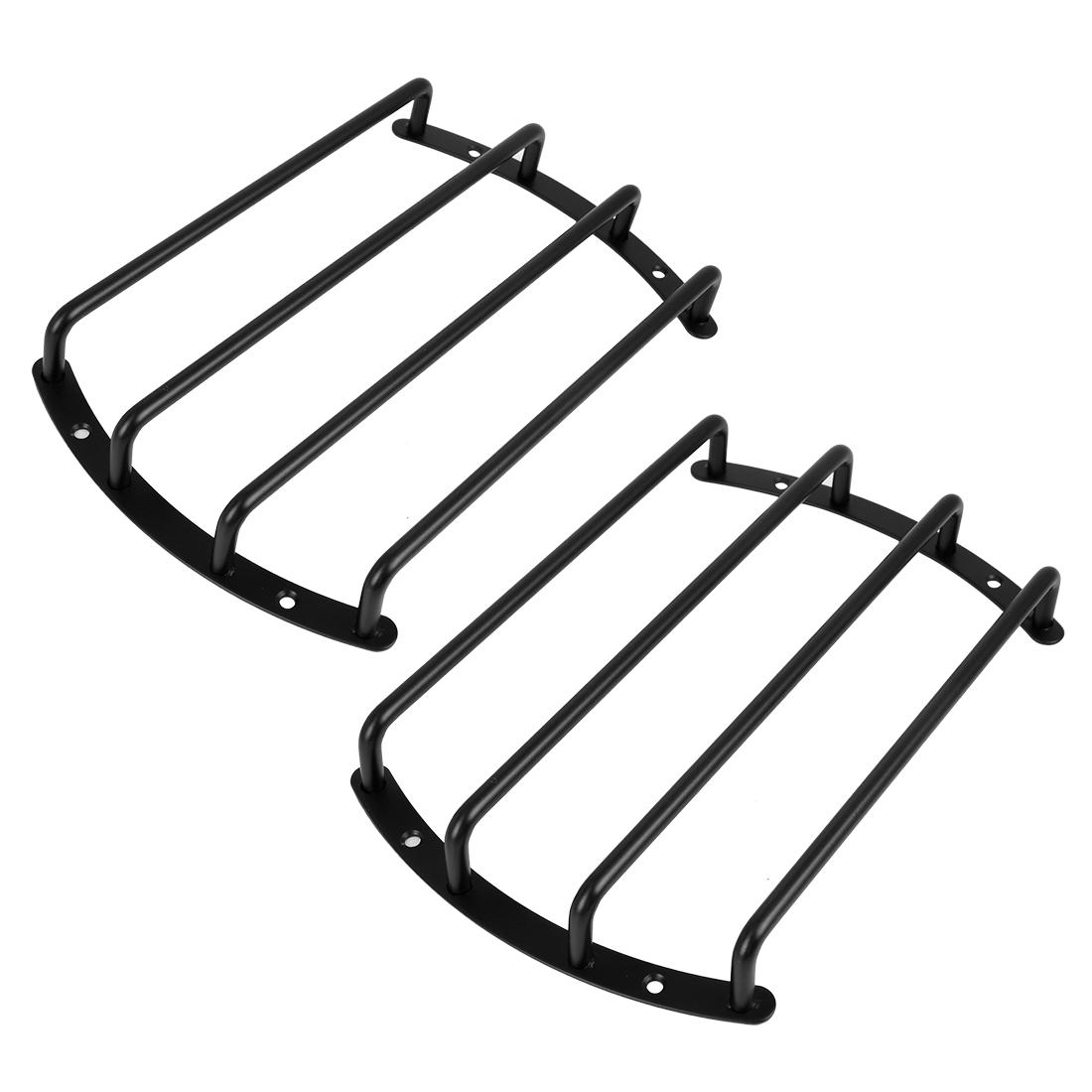 2pcs 8 Inch Black Metal Car Bar Grille Subwoofer Speaker Grill Cover Guard