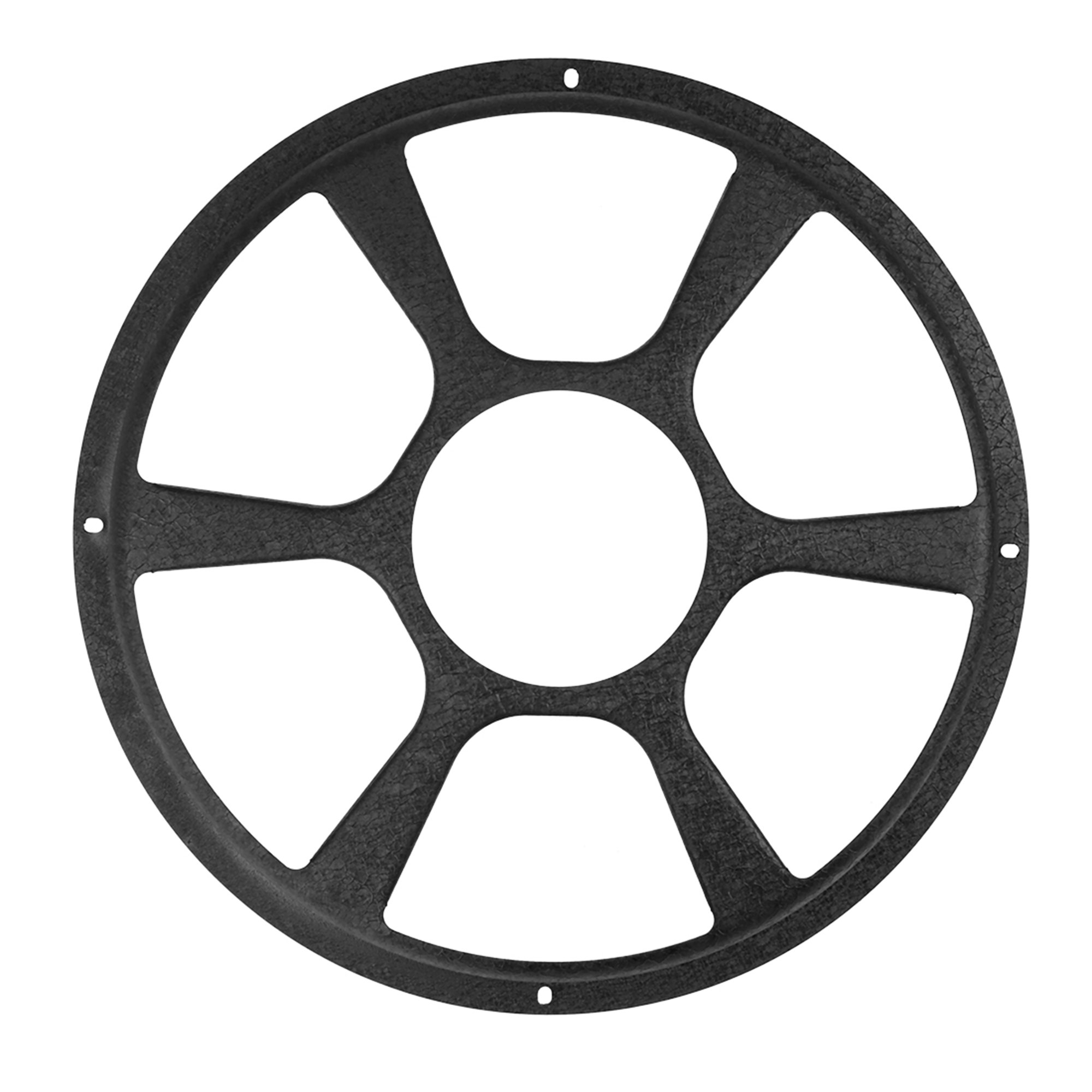 12 Inch Black Car Audio Speaker Cover Hollow Mesh Subwoofer Grill Horn Guard