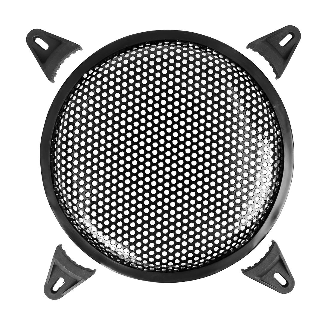 8 Inch Black Car Audio Speaker Subwoofer Metal Black Waffle Grill Cover Guard