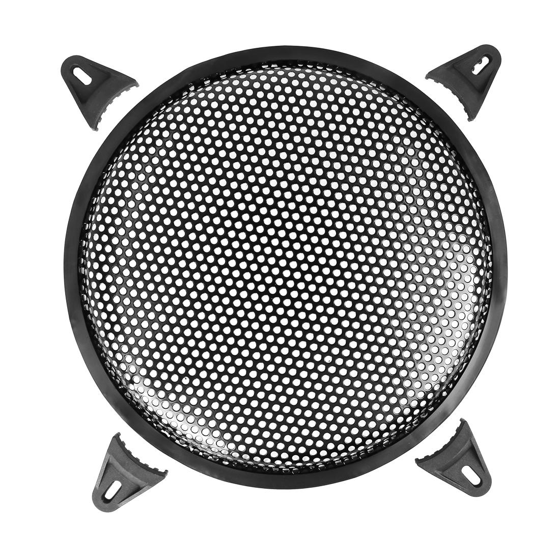 10 Inch Black Car Audio Speaker Subwoofer Metal Black Waffle Grill Cover Guard