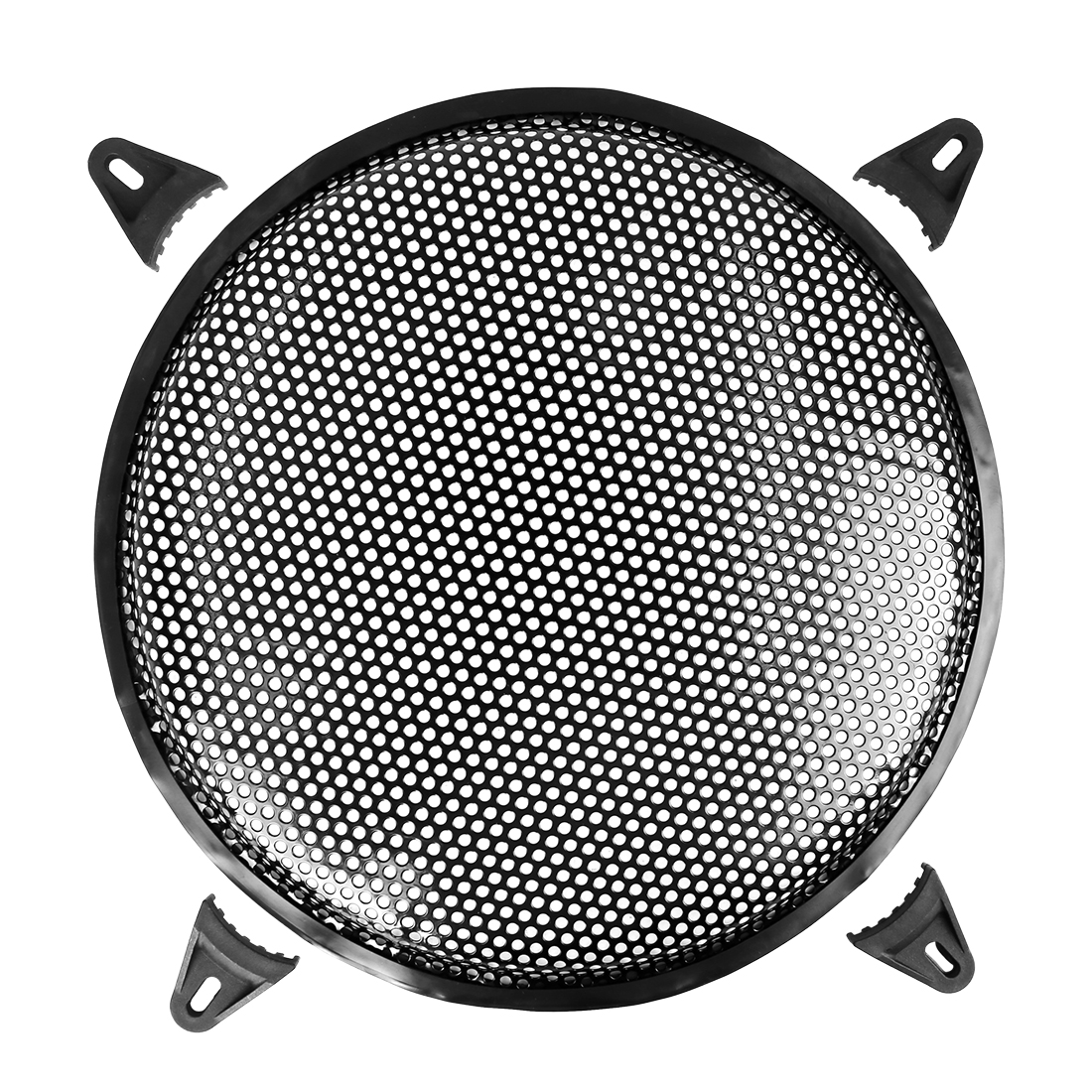 12 Inch Black Car Audio Speaker Subwoofer Metal Black Waffle Grill Cover Guard