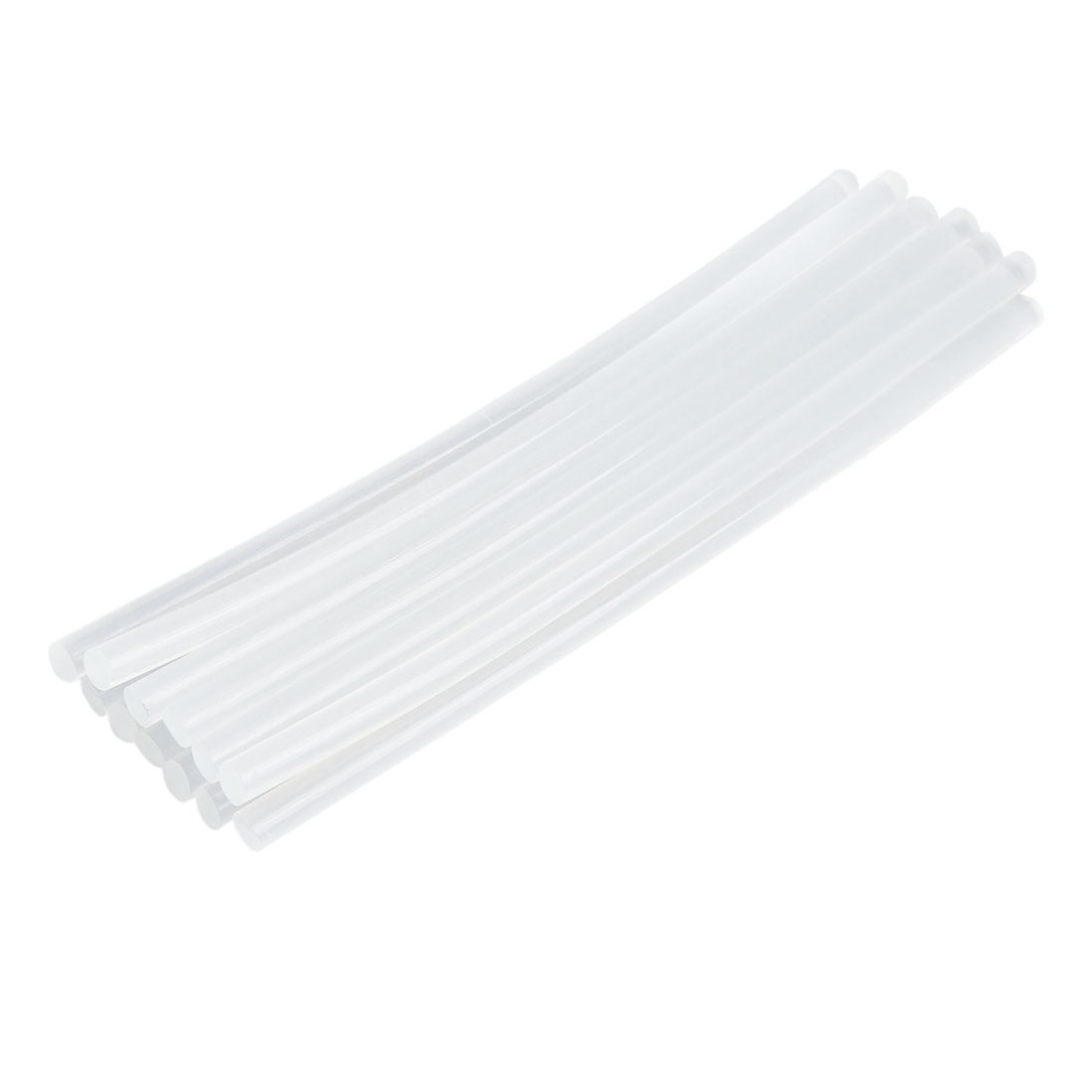12 Pcs 7mm x 200mm Clear Paintless Dent Repair Hot Melt Glue Sticks for Car