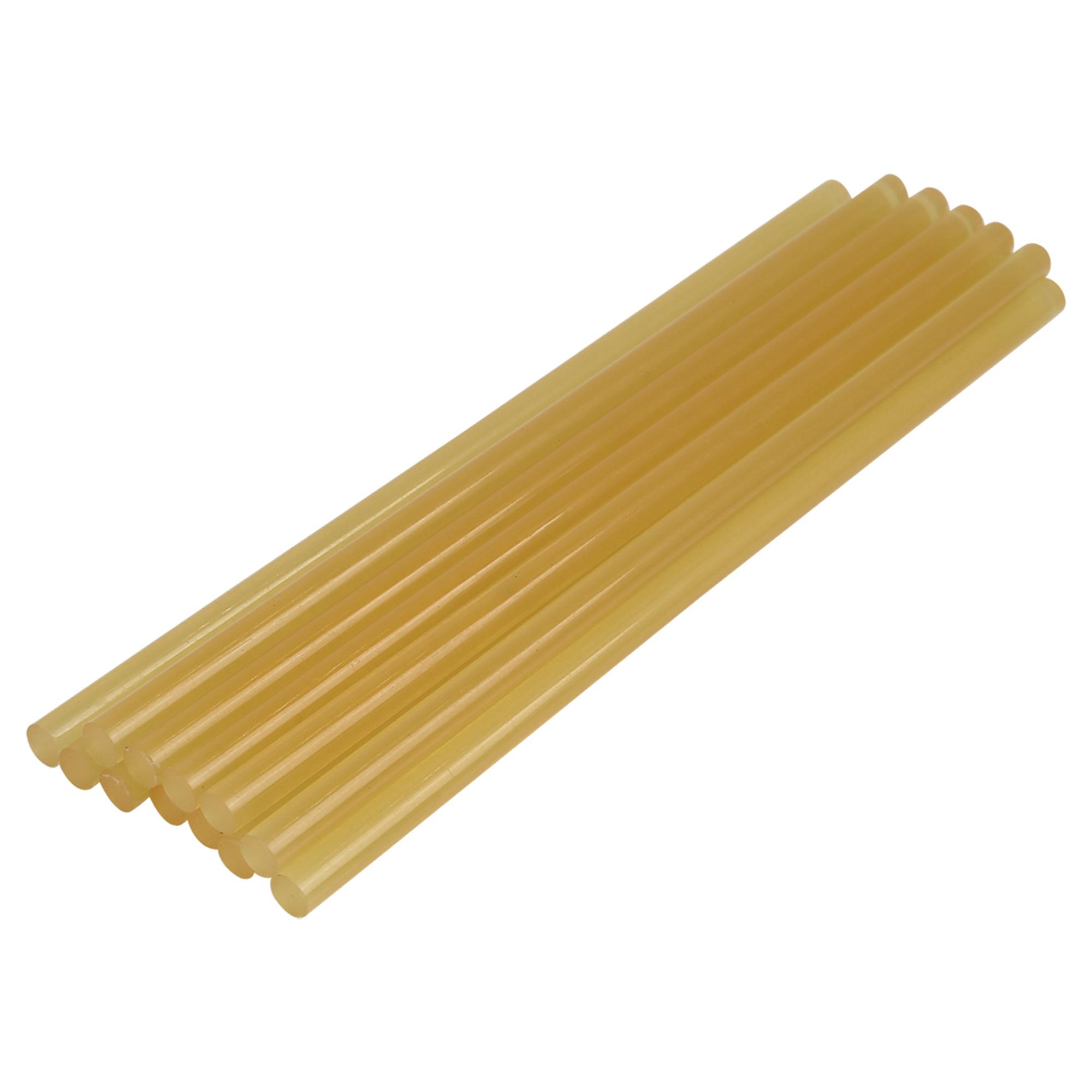 12 Pcs 7mm x 200mm Yellow Paintless Dent Repair Hot Melt Glue Sticks for Car