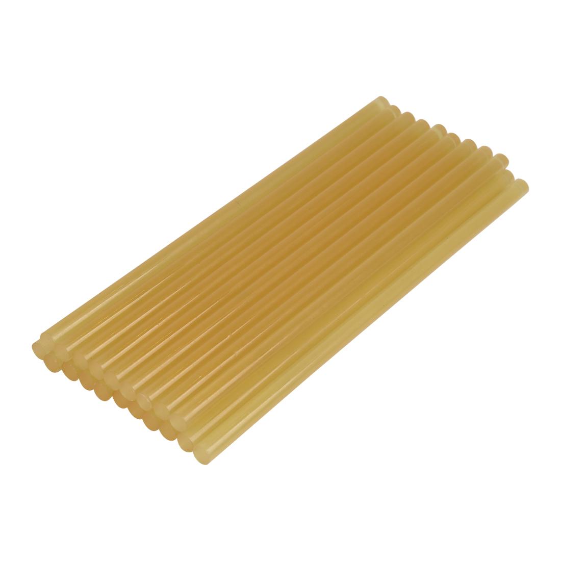 20 Pcs 7mm x 200mm Yellow Paintless Dent Repair Hot Melt Glue Sticks for Car