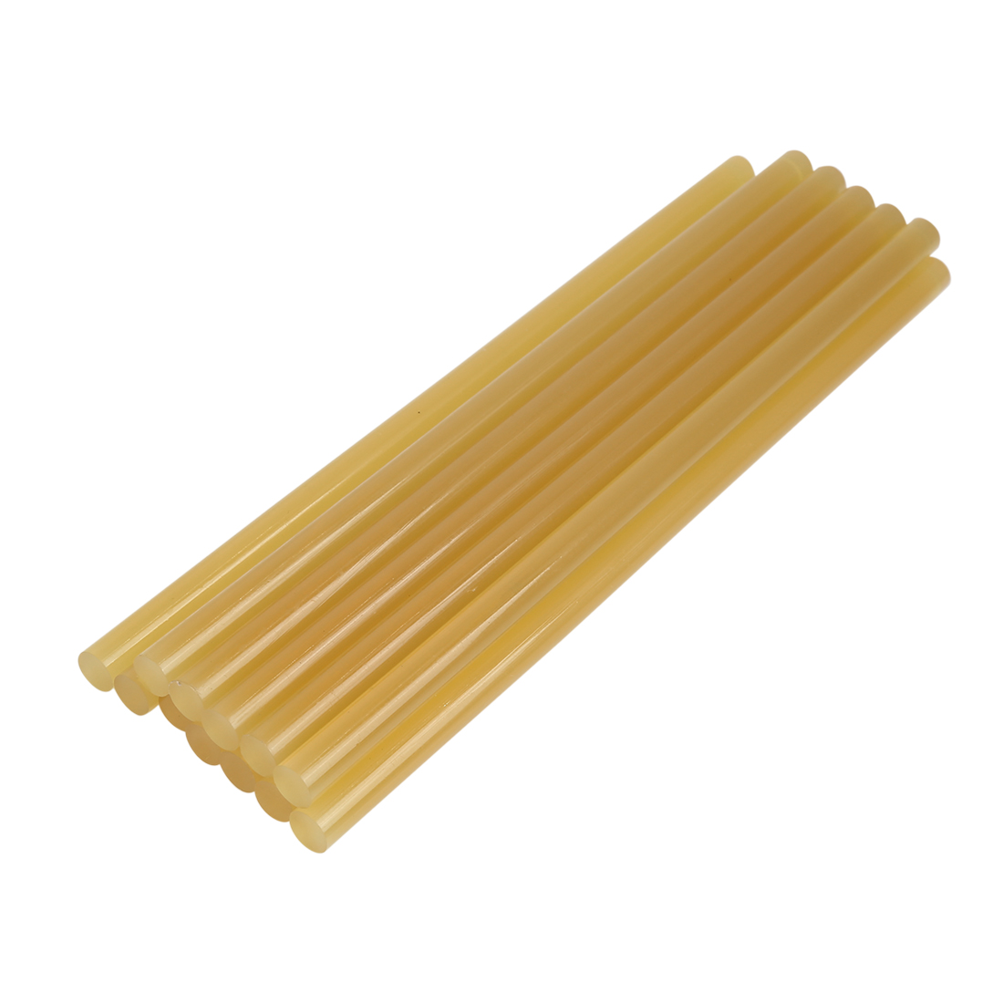 12 Pcs 11mm x 270mm Yellow Paintless Dent Repair Hot Melt Glue Sticks for Car