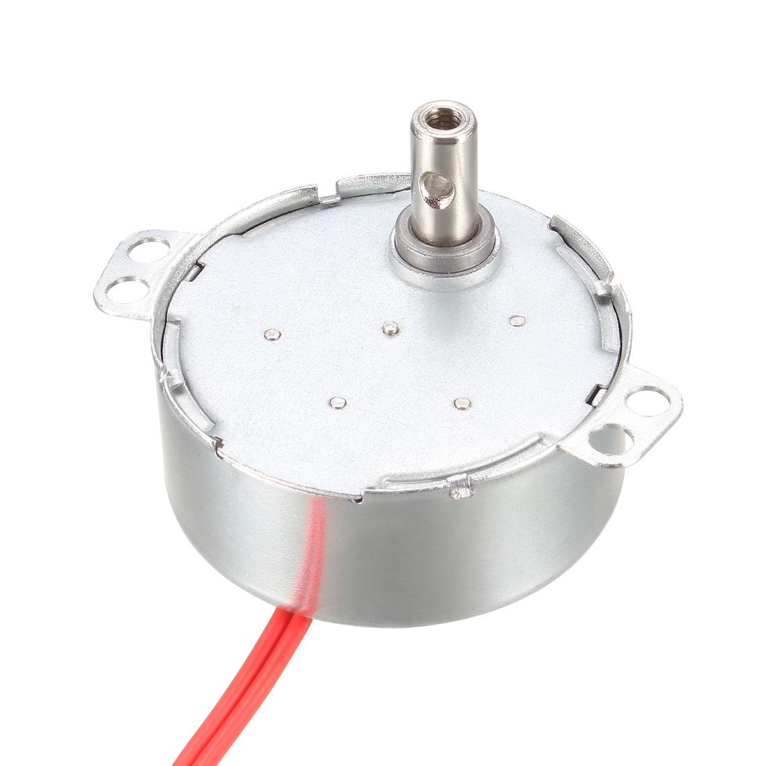Synchronous Synchron Motor - Turntable Motor AC 12V 50-60Hz CCW/CW 4W 5-6RPM