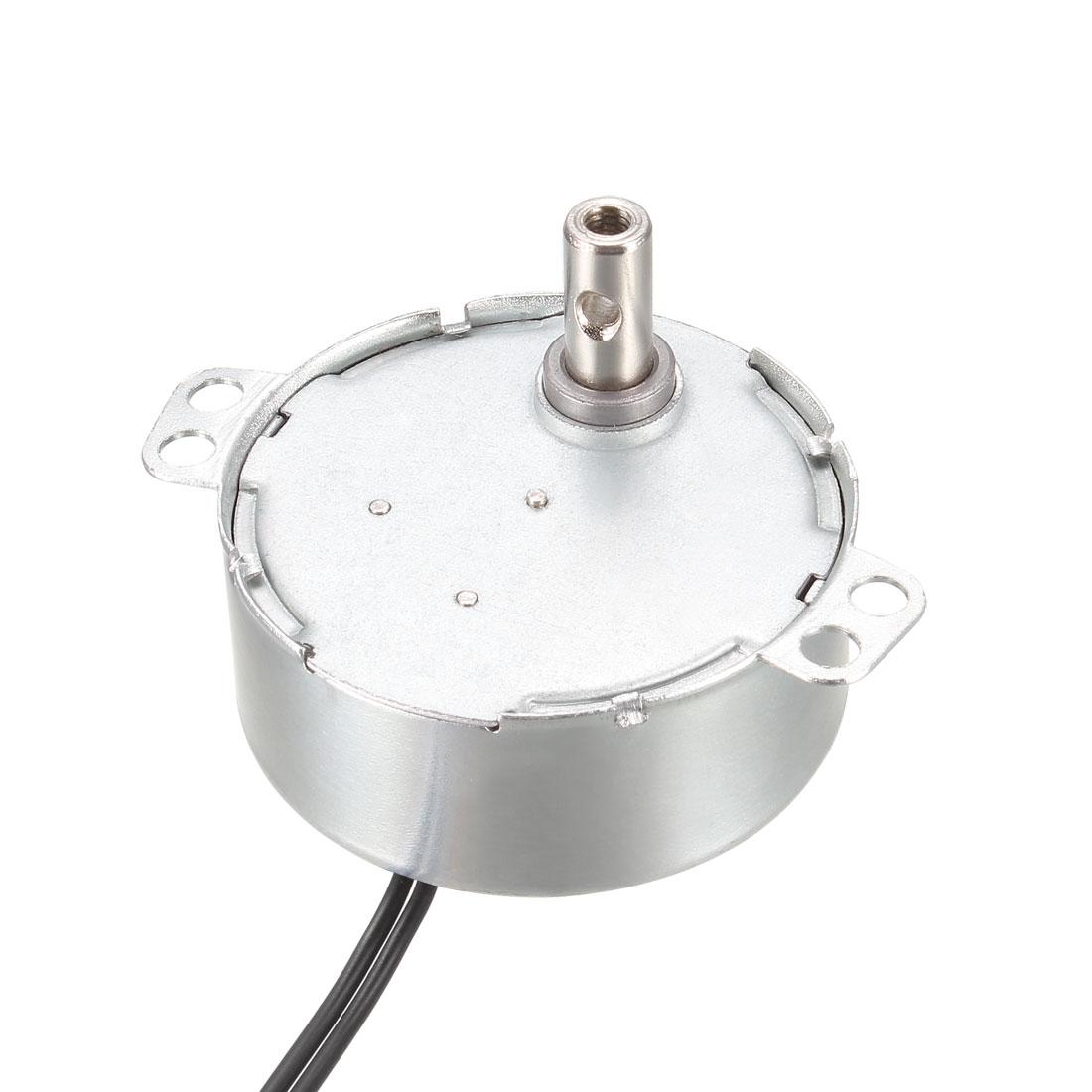 Synchronous Synchron Motor - Turntable Motor 220-240 VAC 50-60Hz CW 4W 20-24RPM