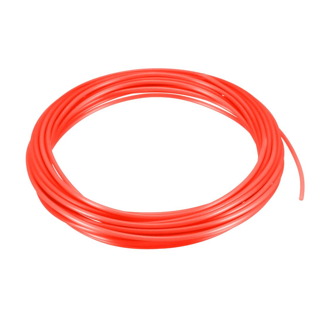 5 Meter/16 Ft PLA 3D Pen/3D Printer Filament, 1.75 mm Red