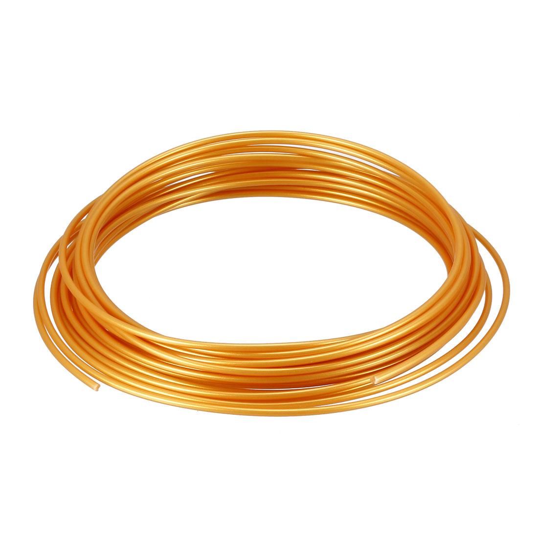 5 Meter/16 Ft PLA 3D Pen/3D Printer Filament, 1.75 mm Golden