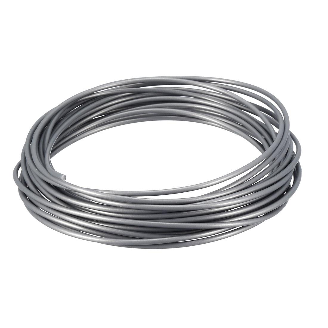 5 Meter/16 Ft PLA 3D Pen/3D Printer Filament, 1.75 mm Silver