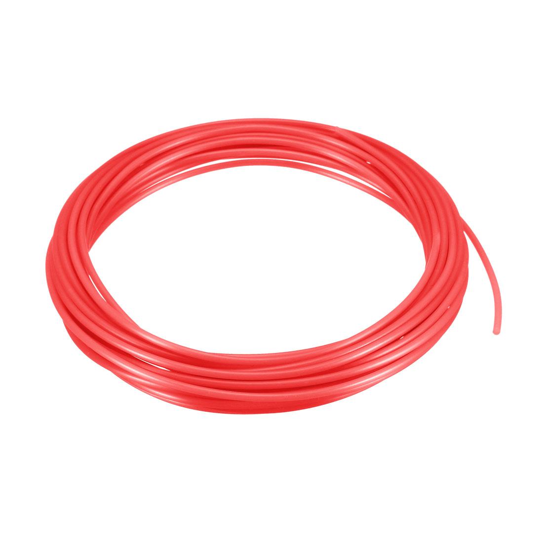 5 Meter/16 Ft PLA 3D Pen/3D Printer Filament, 1.75 mm Fluorescent Rose