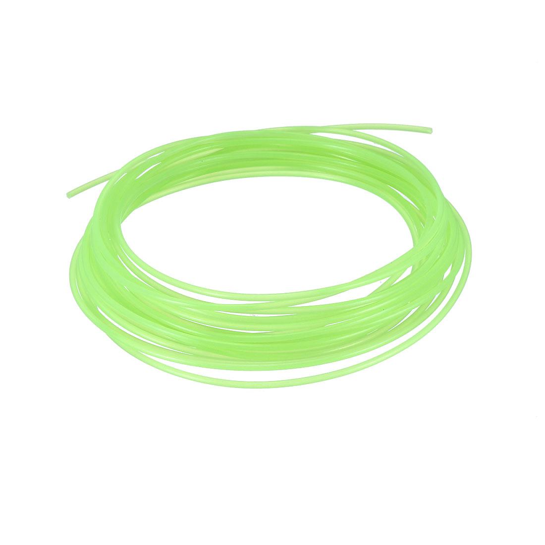 5 Meter/16 Ft PLA 3D Pen/3D Printer Filament, 1.75 mm Fluorescent Green