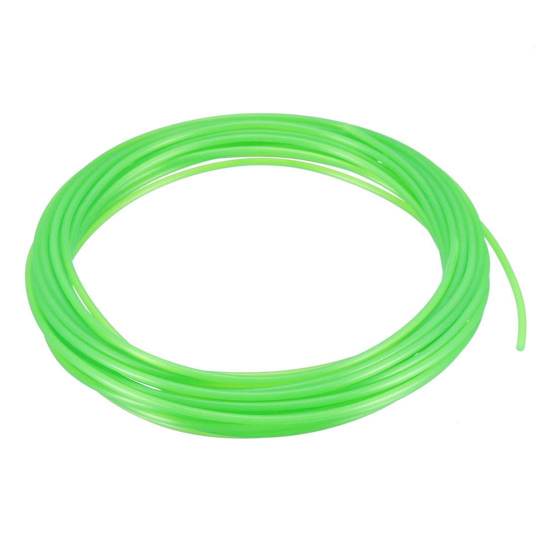 5 Meter/16 Ft PLA 3D Pen/3D Printer Filament, 1.75 mm Transparent Green