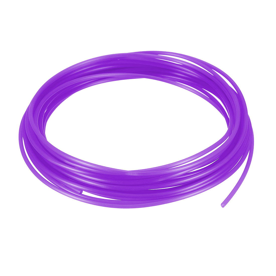 5 Meter/16 Ft PLA 3D Pen/3D Printer Filament, 1.75 mm Transparent Purple