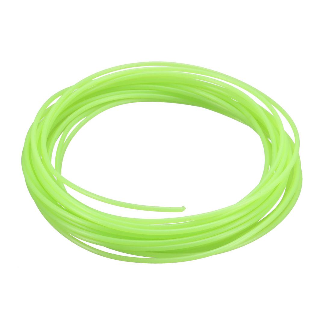 5 Meter/16 Ft PLA 3D Pen/3D Printer Filament, 1.75 mm Luminous Green
